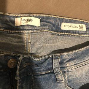 Kensie Effectless Ankle Skinny Jeans. Size 8